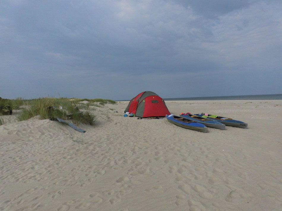 Zeltplatz an der Ostsee