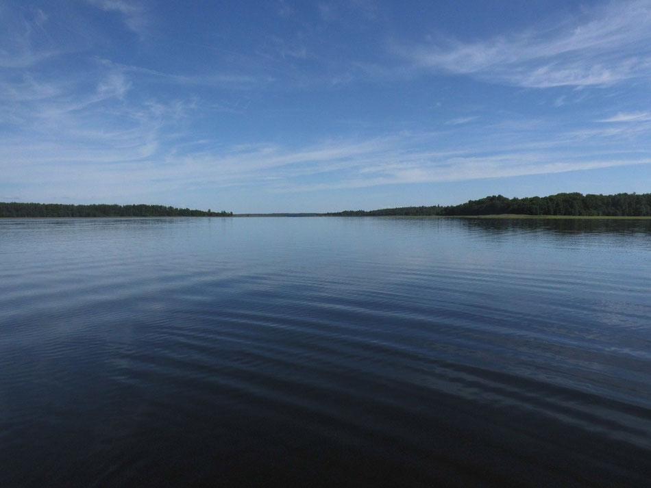 Usma - See Blick Richtung Osten