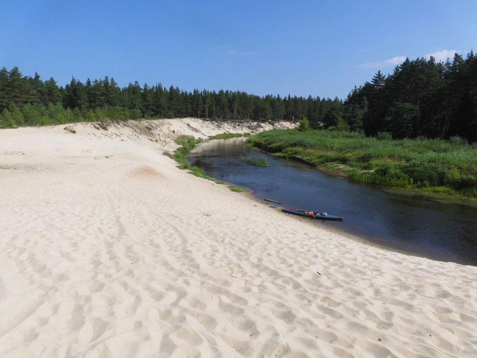 Sandstrand wie an der Ostsee