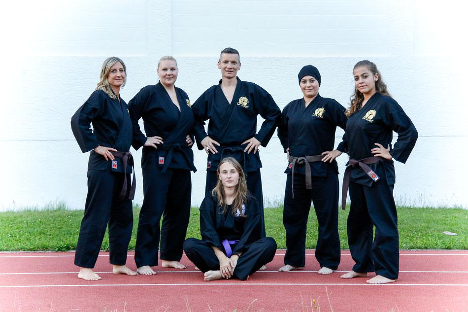 Karatelehrer der Karateschule Gruber