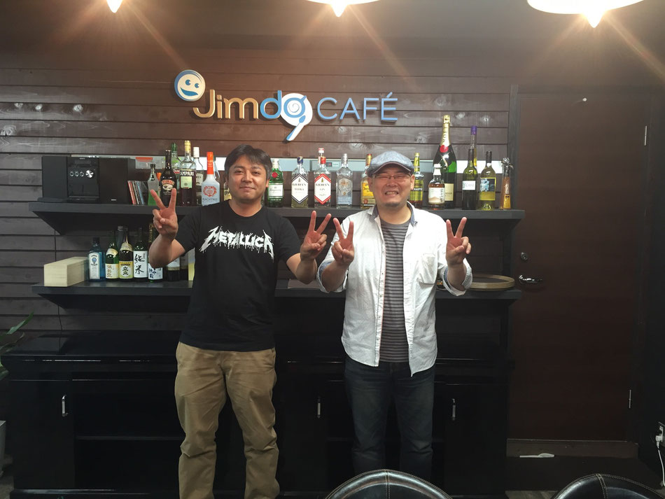 JimdoCafe 名古屋 オーナーの野崎さんと