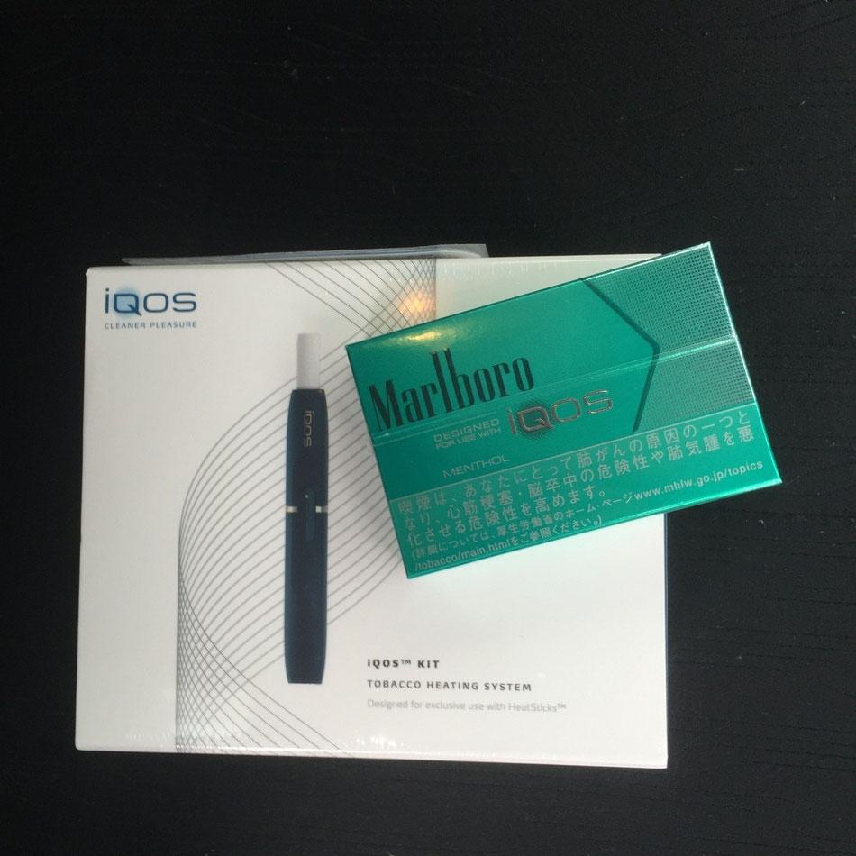 新しいカタチのたばこ「iQOS」