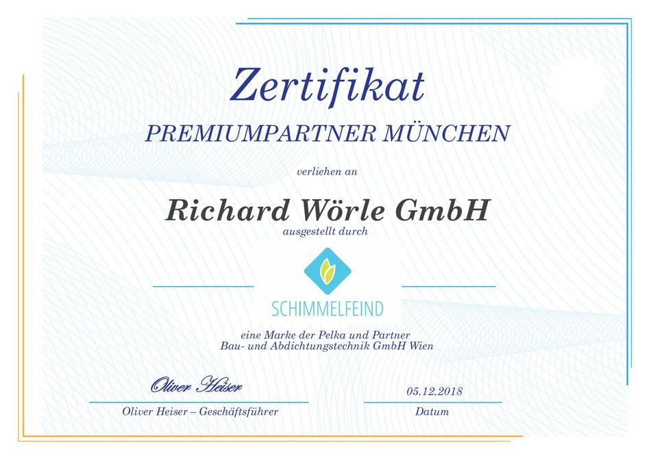 Partner für Schimmelbeseitigung in München