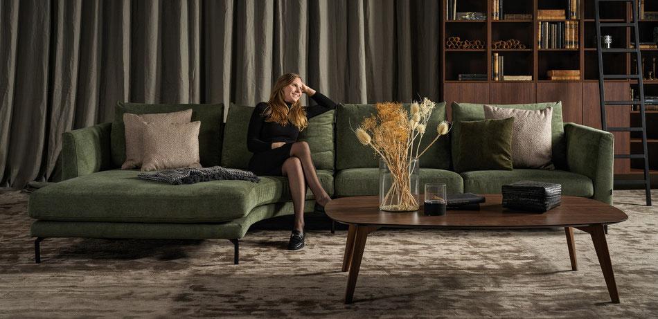 Furninova Sofa Francis, direkt ab Werk