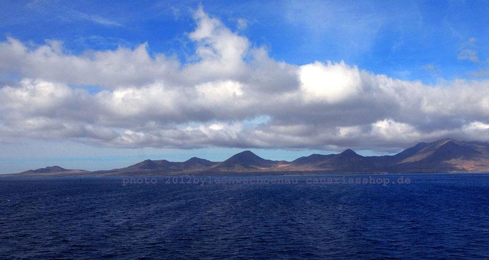 Fuerteventura_Blick auf die südliche Küste zwischen Punta del Viento und  Playa de Las Filas