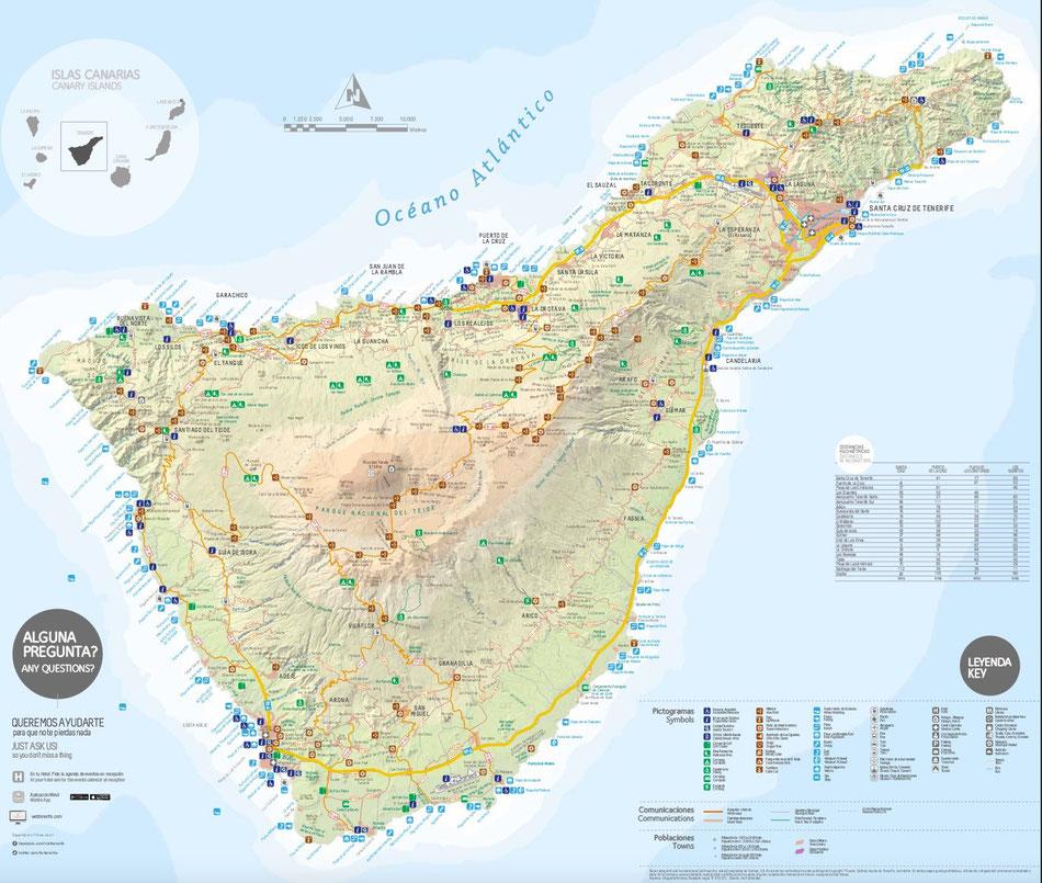 Teneriffa Daten Fakten Canariasshop De Ihre Kanaren Zu