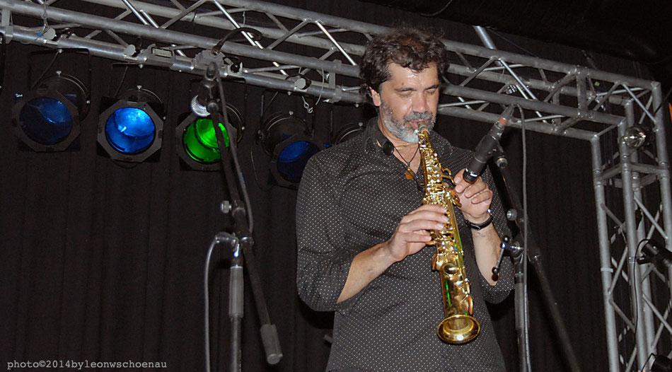 Kike Perdomo, Saxophonist, Teneriffa