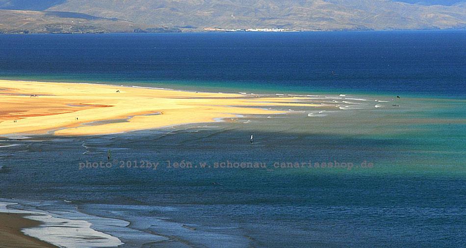 Fuerteventura_Playas de Sotavento_Blick von Risco de Paso