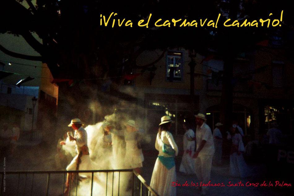 """EDITIONCANARIAS-Fotoposter, Format A 3: """"""""Día de los Indianos"""", Santa Cruz de La Palma"""