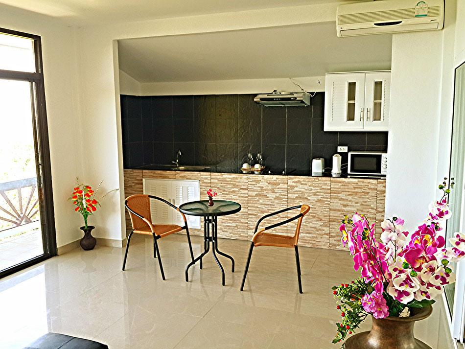 living room sky villa naak maenam