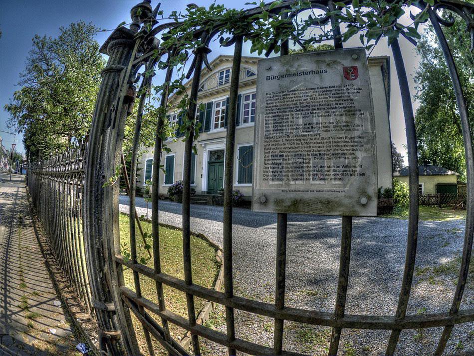 das alte Bürgermeisterhaus