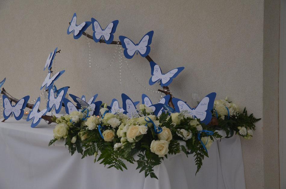 tabòeau-de-mariage-blu-tableau-de-mariage-farfalle