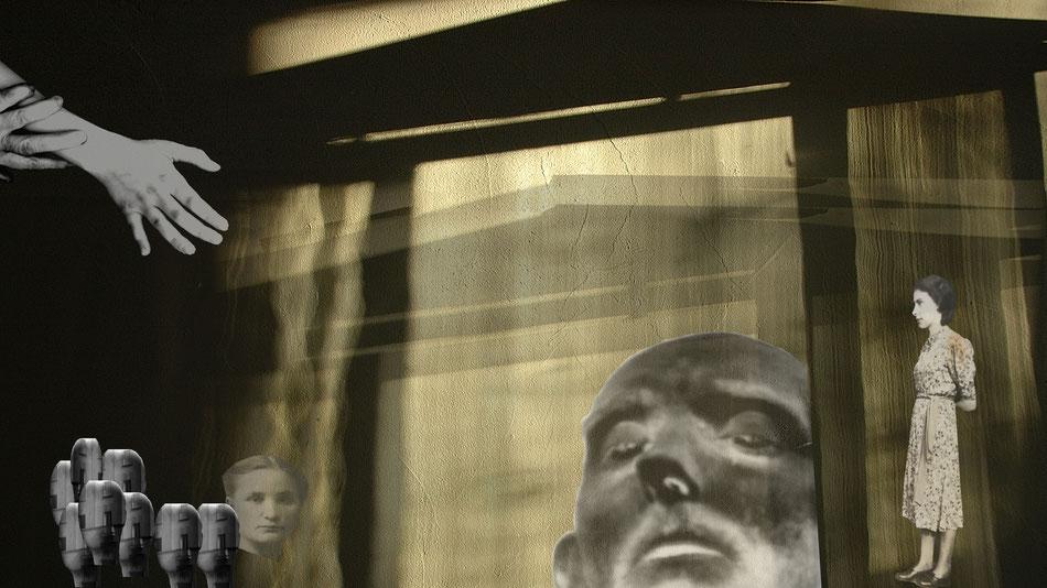Requiem, 32x18, Aludibond hinter Acrylglas