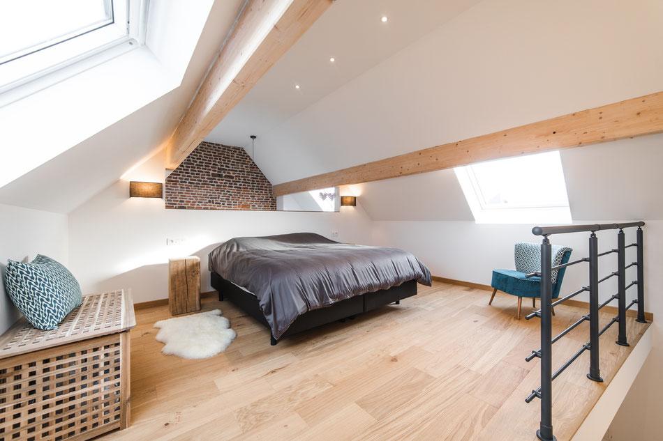 Le cabriolait gîte 2 personnes proche centre de Namur tout confort grand lit parking aisé cuisine équipée