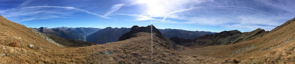 Unterwegs zum Hochgrubenkopf 2664m