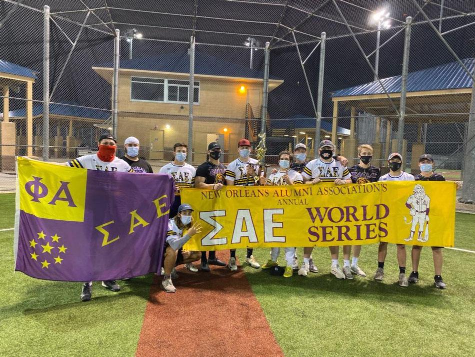 Sae World Series softball tournament.