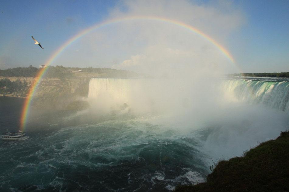 Arc-en-ciel sur le Niagara