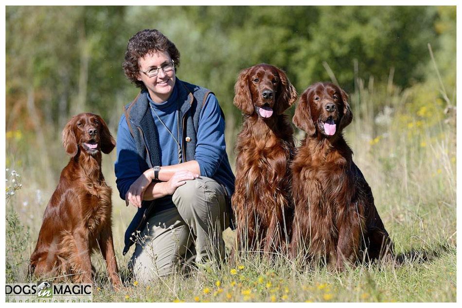 Annie, Susan, Suomi & Glen 2015. Foto: Bianca Heydegger