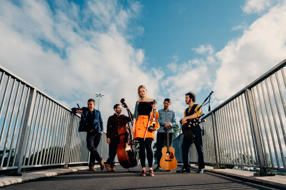 Internationally acclaimed Breabach are coming to Broadstairs Folk Week 2020. Photo: via Breabach.com