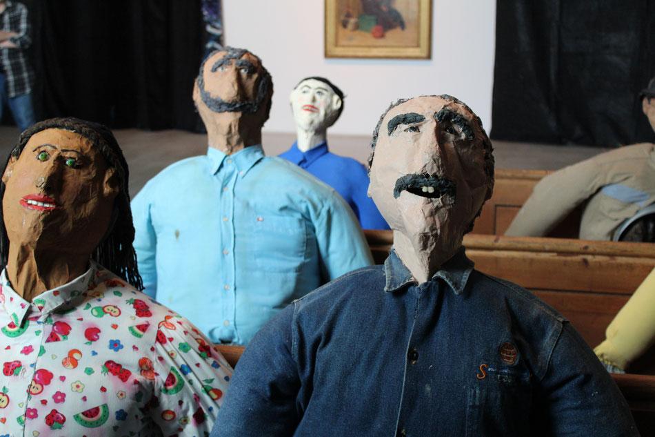 Oscar Murillo, 'surge (social cataracts)'. Photo: M Smith