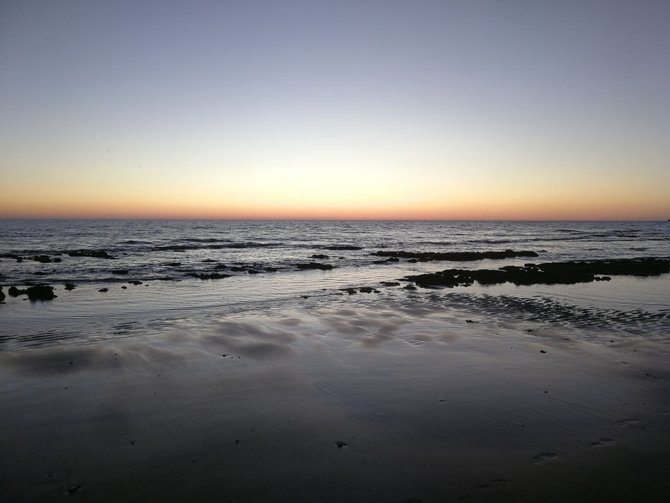 Dawn at Dumpton Gap, Broadstairs. Photo: EDuffy