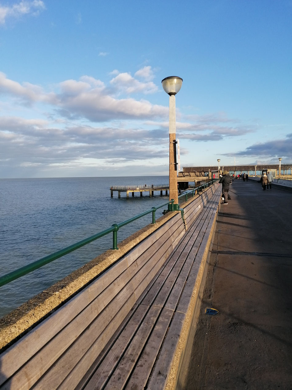 Deal Pier Looking Out to Sea. Photo: MSmith