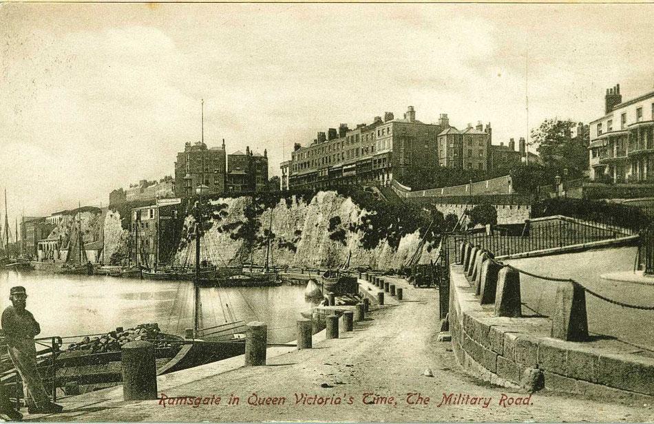 Ramsgate marina of yesteryear.