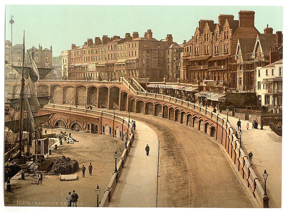 Ramsgate Arches were part of the New Road development of the early 1900's.