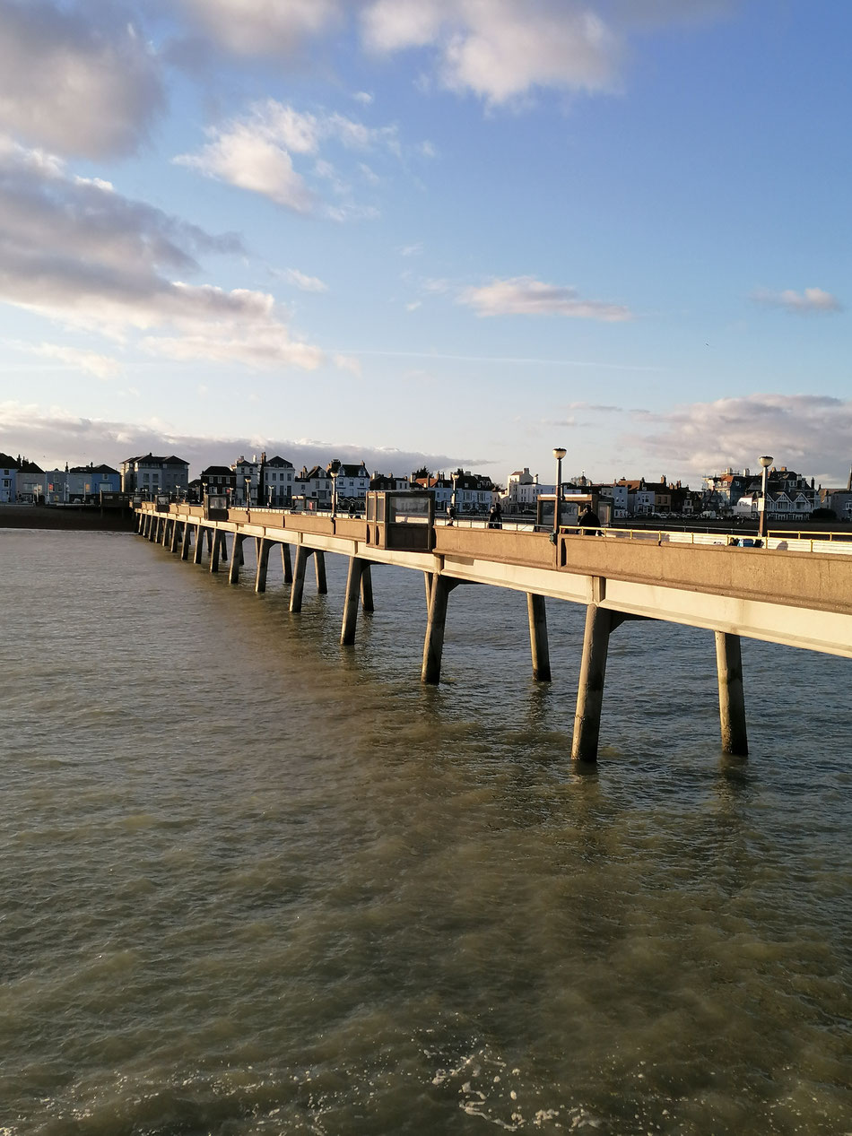 Deal Pier Looking Towards Town. Photo: MSmith