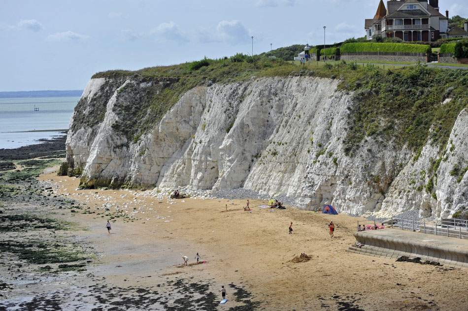 Unspoilt Dumpton Gap, Broadstairs. Image: Thanet Tourism