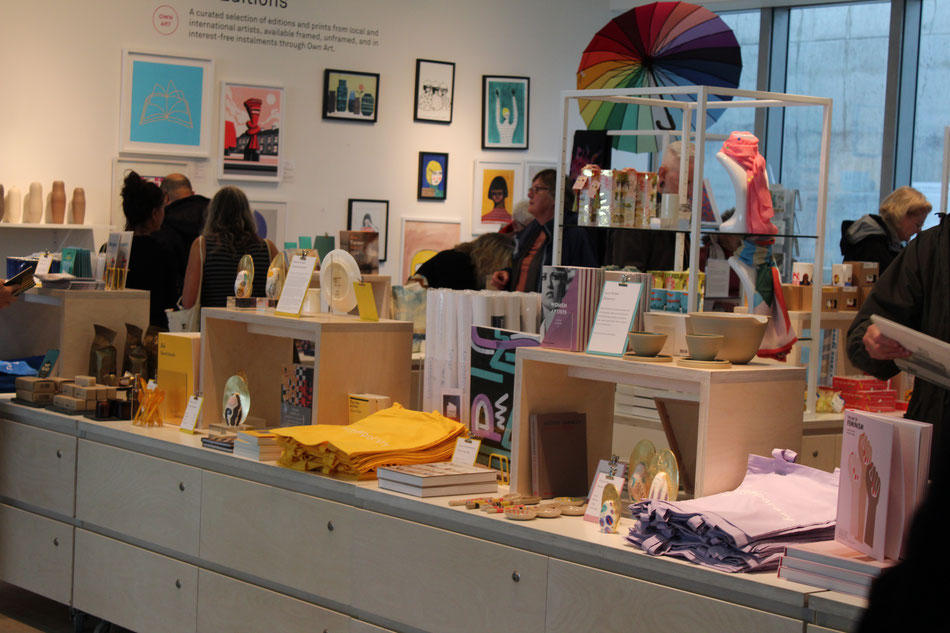 Turner Contemporary Gift Shop. Photo: M Smith