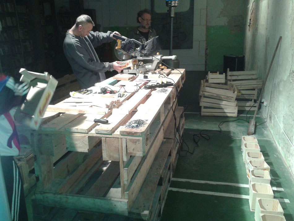 WoodenBox Production in MiserArt, March 2016