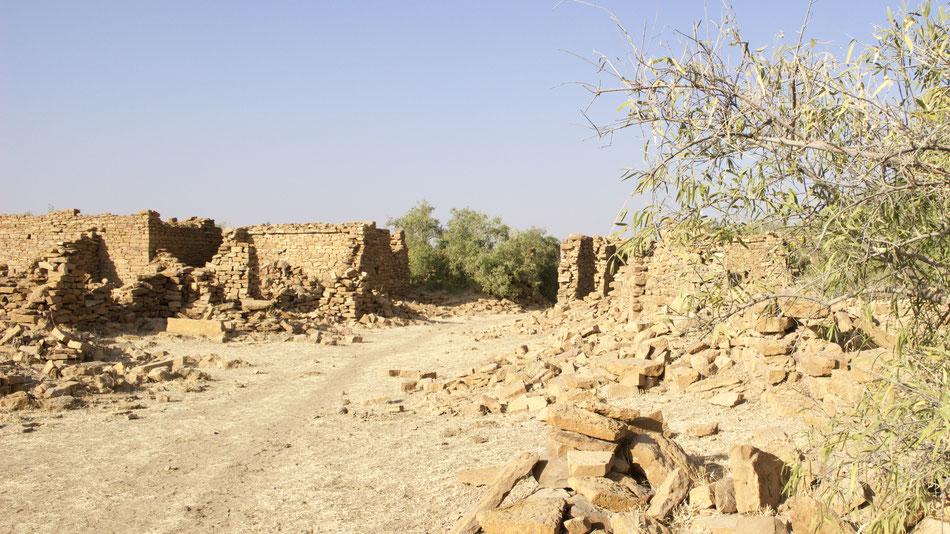 Empty Village Desert