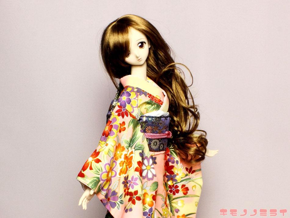 SD kimono,DD 着物,ドルフィー 和装