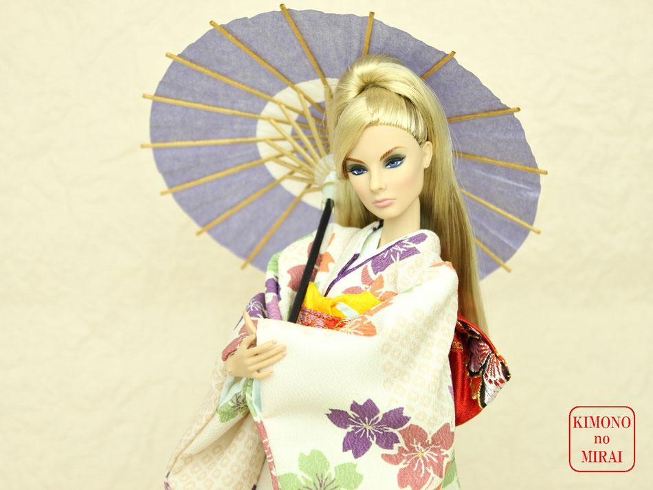 ドール 和傘,人形 蛇の目,ミニ 傘