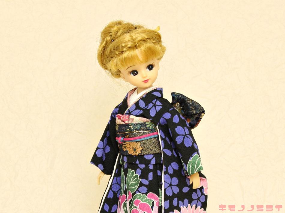 リカちゃん 振袖,Licca 和服,正月 着物
