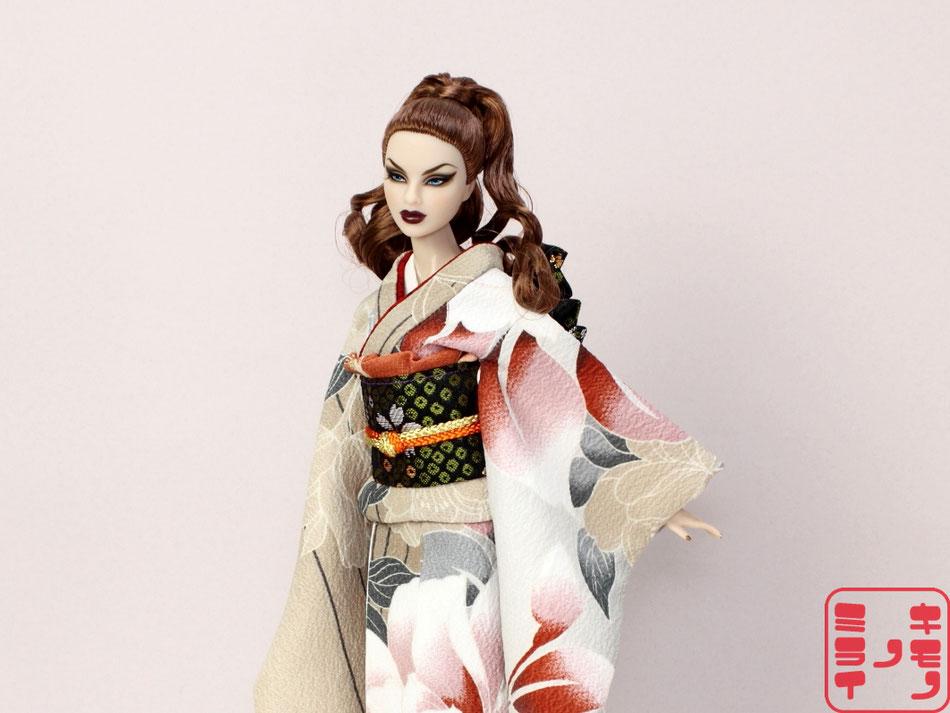 Fashion Royalty kimono,Fashion Royalty着物,Fashion Royalty kimono,FR 着物,Agnes,Anja,Echelon