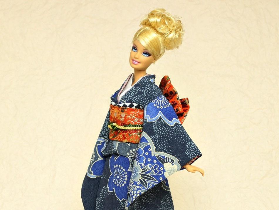 kimono Barbie、バービー着物,Fashion Royalty kimono,Poppy Pakar,FR NIPPON MISAKI,The Funny Face