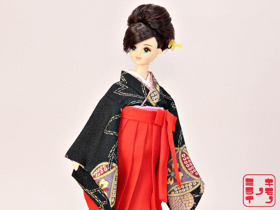 ジェニー kimono,Momoko 袴,Pullip 着物