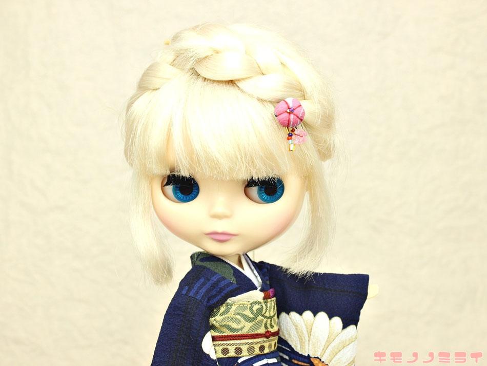 リカちゃん 着物,ブライス 着物,blythe kimono
