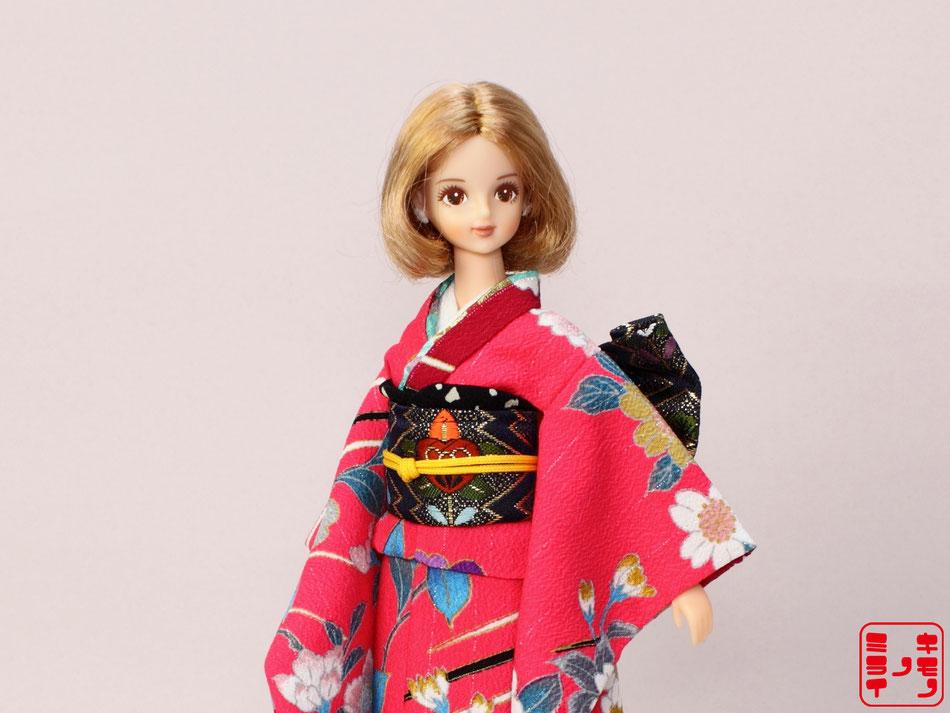 ジェニー振袖、momoko振袖,Pullip kimono
