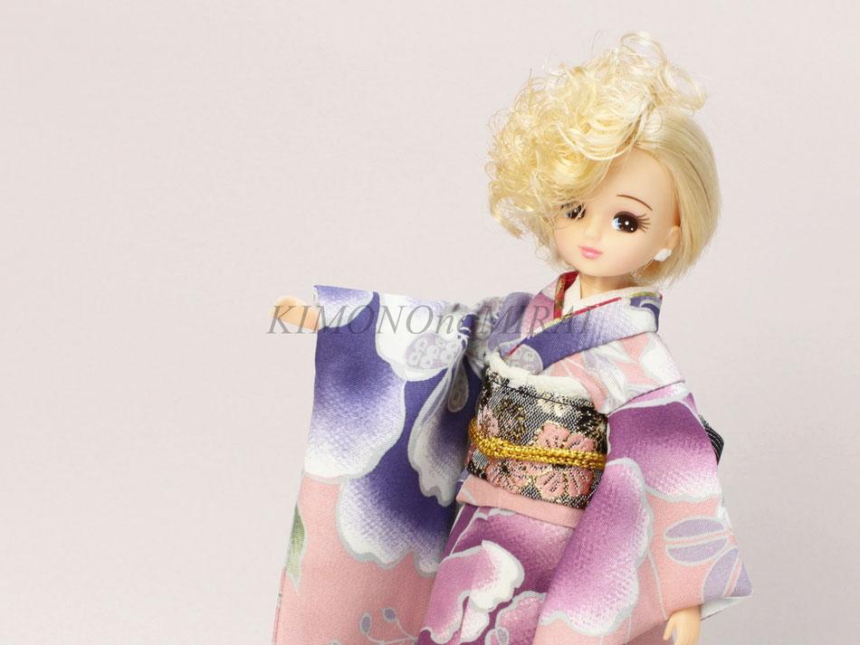 リカちゃん 振袖,kimono Blytye,ブライス 着物