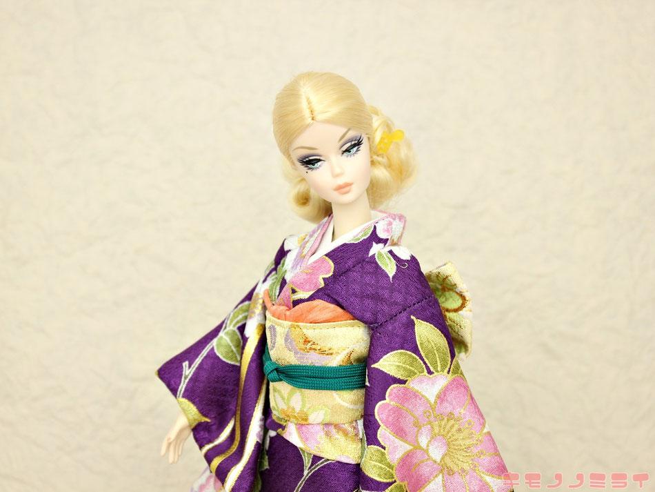 バービー 振袖、Barbie kimono