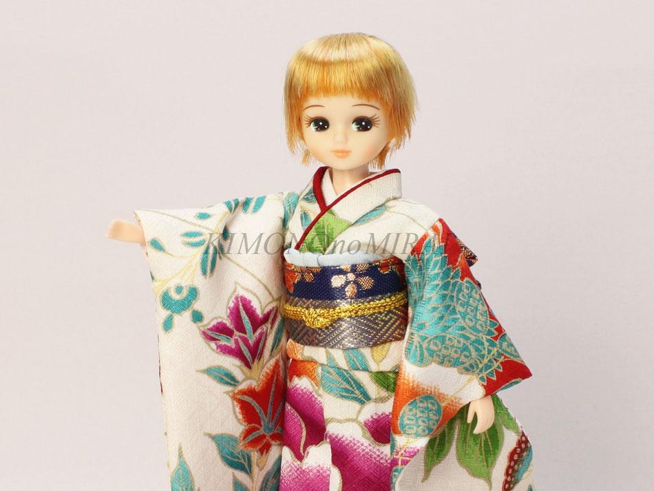 リカちゃん振袖、ブライス振袖,Licca kimono,Blythe kimono,