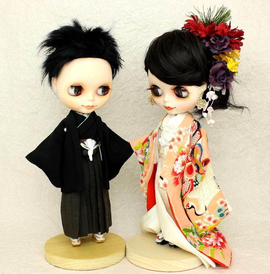 ブライス 婚礼衣装,Blythe wedding kimono