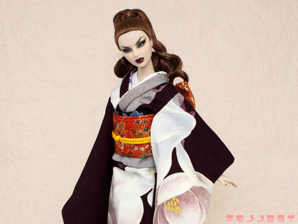 Fashion Royalty kimono,Fashion Royalty着物、Agnes kimono