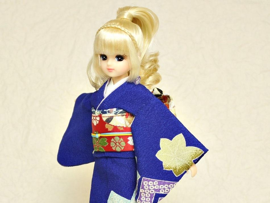 Blythe kimono,ブライス 着物,リカちゃん 和服