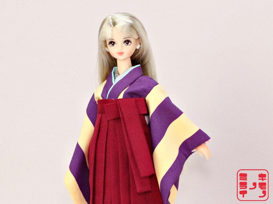 Jenny kimono,Momoko 袴,Pullip 着物
