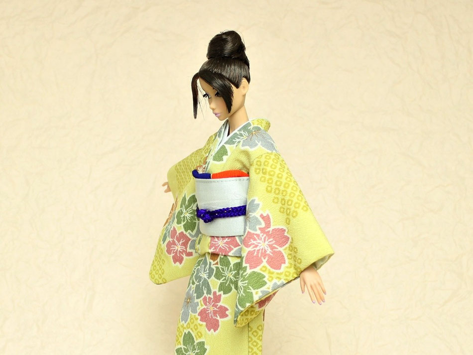 kimono Barbie,Japanese kimono,バービー着物