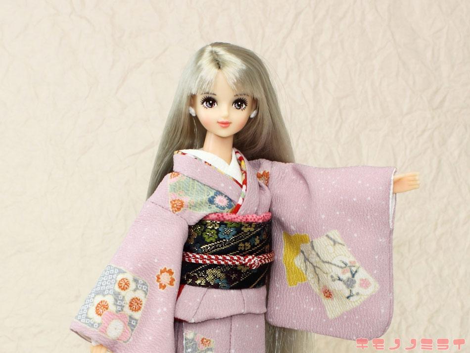 Jenny kimono,Momoko kimono,Pullip kimono、プーリップ 着物